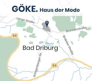 Adresse Göke Haus der Moden Bad Driburg bei Google Maps öffnen