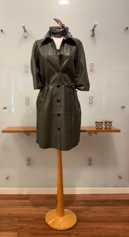 Damen Lederkleid - Herbst 2021 - Bad Driburg - GÖKE. Haus der Moden